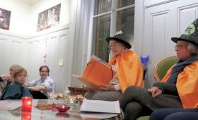 Fête de la Samain au jardin botanique de Neuchâtel le 31 octobre 2018